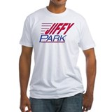 Seinfeld jiffy park Fitted Light T-Shirts