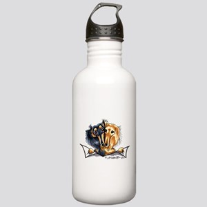 Longhair Dachshund Lover Stainless Water Bottle 1.