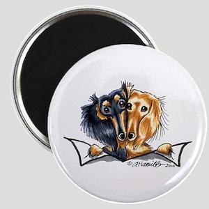 Longhair Dachshund Lover Magnet