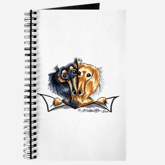 Longhair Dachshund Lover Journal