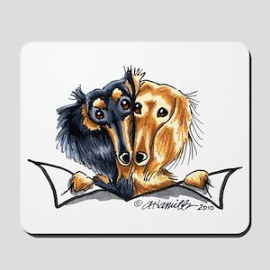 Longhair Dachshund Lover Mousepad