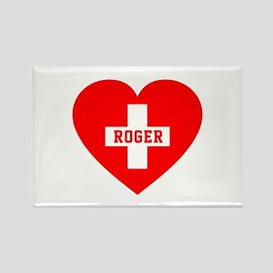 I Love Roger Rectangle Magnet