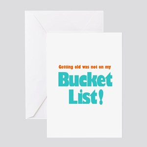 The Bucket List Greeting Card