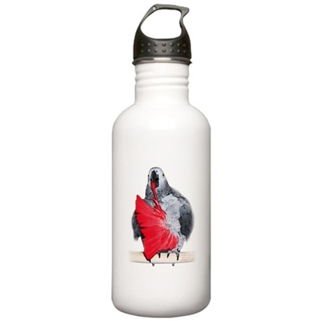 african grey Stainless Water Bottle 1.0L
