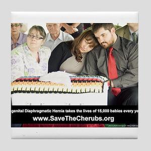 Save the Cherubs - Oz Kidd-Wa Tile Coaster