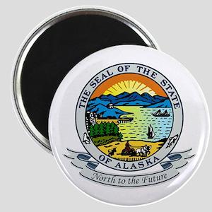 Alaska State Seal Magnet
