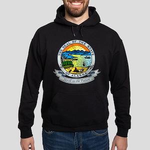 Alaska State Seal Hoodie (dark)