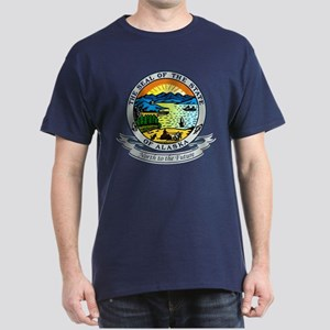 Alaska State Seal Dark T-Shirt