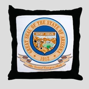 Arizona Seal Throw Pillow