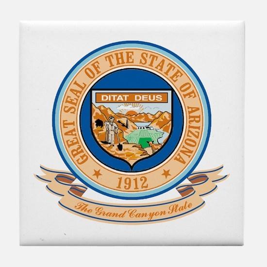 Arizona Seal Tile Coaster