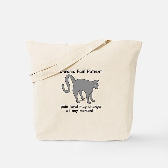 Chronic Pain Patient Tote Bag