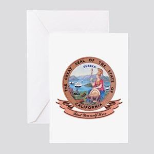 California Seal Greeting Cards (Pk of 10)