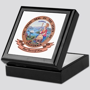 California Seal Keepsake Box