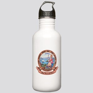 California Seal Stainless Water Bottle 1.0L