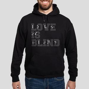 Braille Love Is Blind Hoodie (dark)