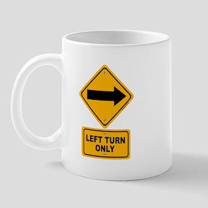 Left Turn Mug