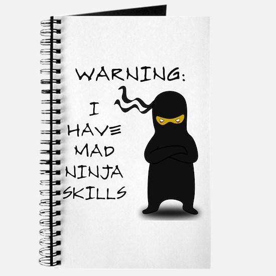 Mad Ninja Skills Journal