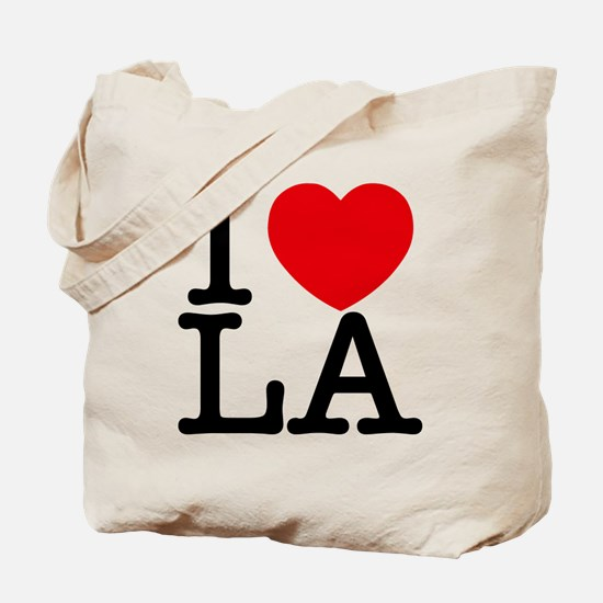 Cute I heart los angeles Tote Bag