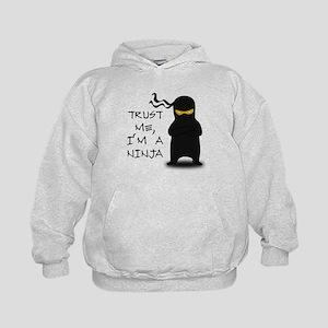 Trust Me, I'm A Ninja Kids Hoodie