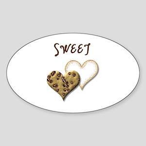 Sweet Cookies Sticker (Oval)