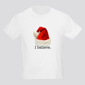 "Christmas ""I Believe"" Kids Light T-Shirt"
