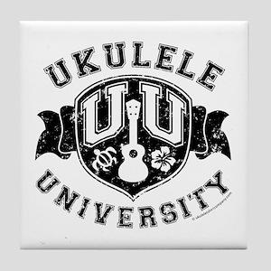 Ukulele University Tile Coaster