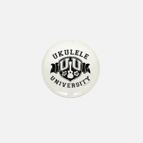 Ukulele University Mini Button