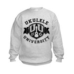 Ukulele University Kids Sweatshirt