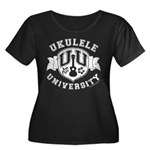 Ukulele University Women's Plus Size Scoop Neck Da