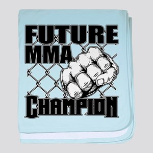 Future MMA Champion - Glove baby blanket
