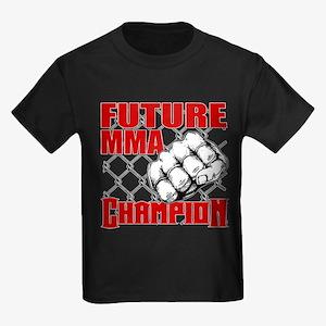 Future MMA Champion - Glove Kids Dark T-Shirt