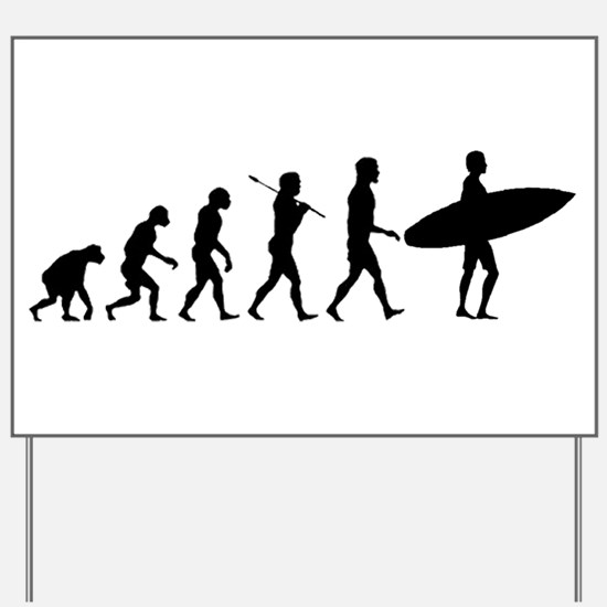 Surf Evolve Yard Sign