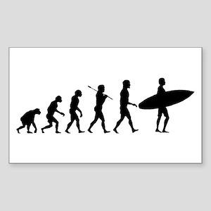 Surf Evolve Sticker (Rectangle)