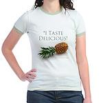 I Taste Delicious Jr. Ringer T-Shirt