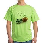 I Taste Delicious Green T-Shirt