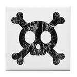 Skull & Crossbones Tile Coaster