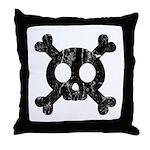 Skull & Crossbones Throw Pillow