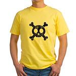 Skull & Crossbones Yellow T-Shirt