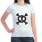 Skull & Crossbones Jr. Ringer T-Shirt