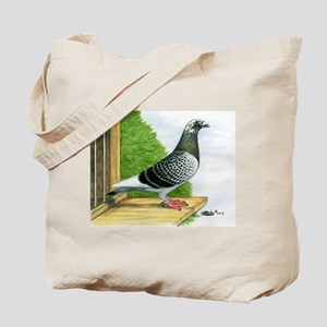 Racing Homer Pigeon Tote Bag