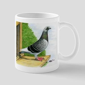 Racing Homer Pigeon Mug