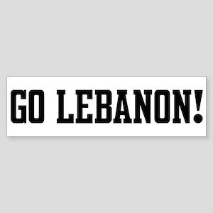 Go Lebanon! Bumper Sticker