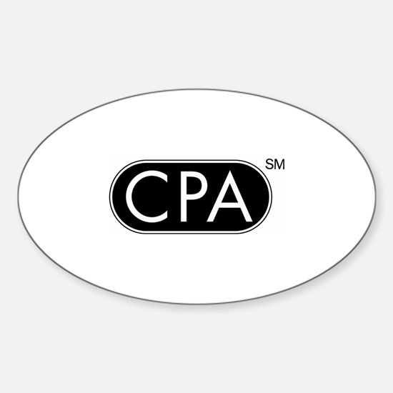 CPA Sticker (Oval)