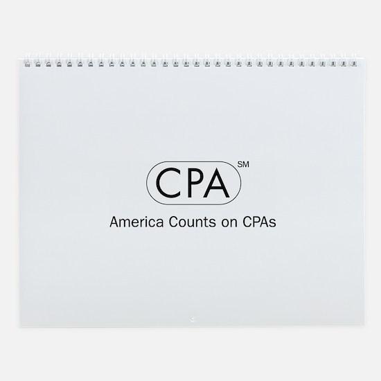 CPA Wall Calendar