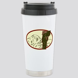 Ski VT Stainless Steel Travel Mug