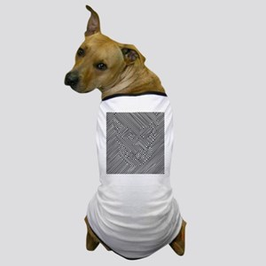 Skull Optical Illusion Dog T-Shirt