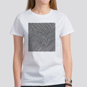Skull Optical Illusion Women's T-Shirt