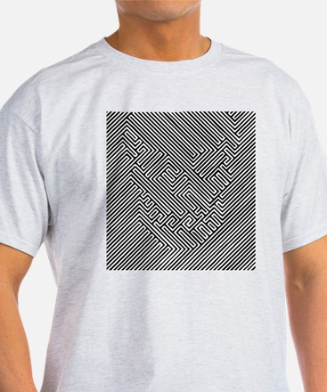 Skull Optical Illusion T-Shirt