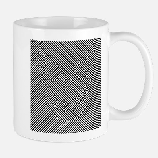 Skull Optical Illusion Mug