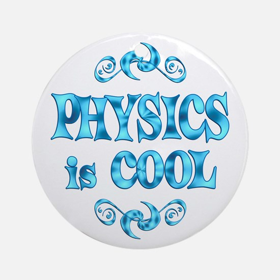 Physics Ornament (Round)